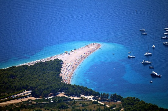 Mesmerizing Zlatni Rat Beach on Brac Island