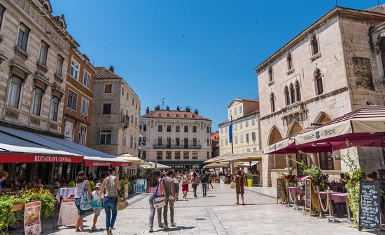 Part of city centre, Split