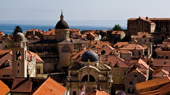 The city of Dubrovnik