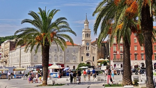 City of Split, in Dalmatia