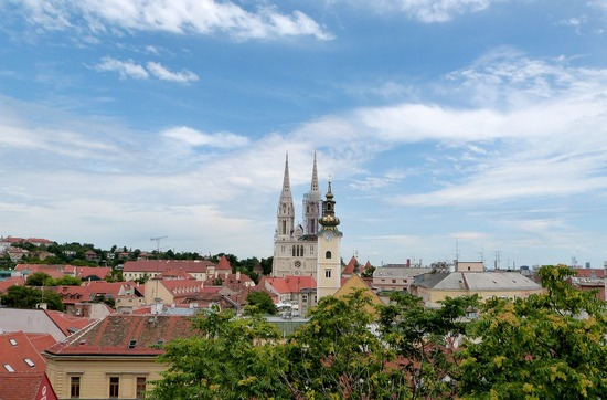 Croatia's capital, city of Zagreb