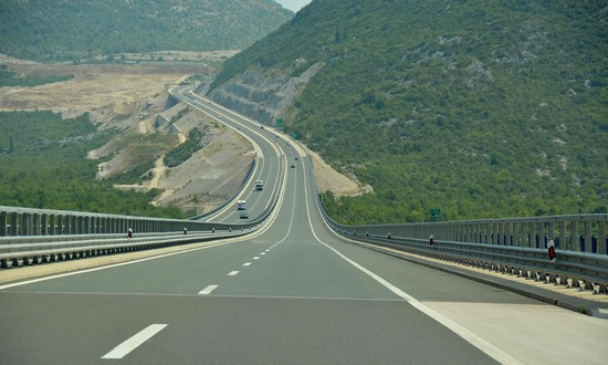 New Zagreb-Split highway