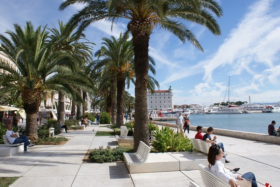 City of Split seafront promenade