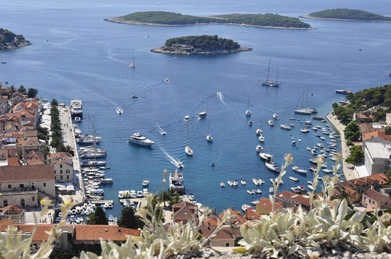 The city and island of Hvar