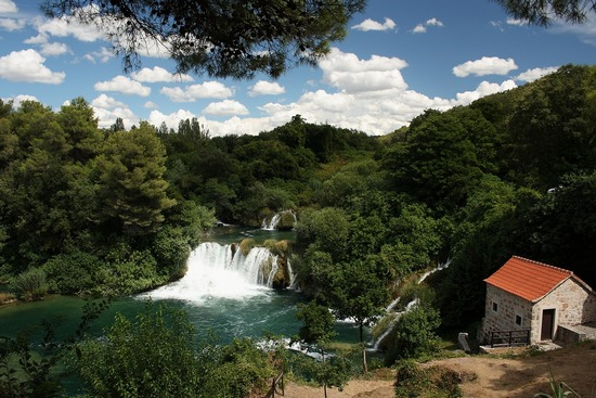 A view of Krka River National Park