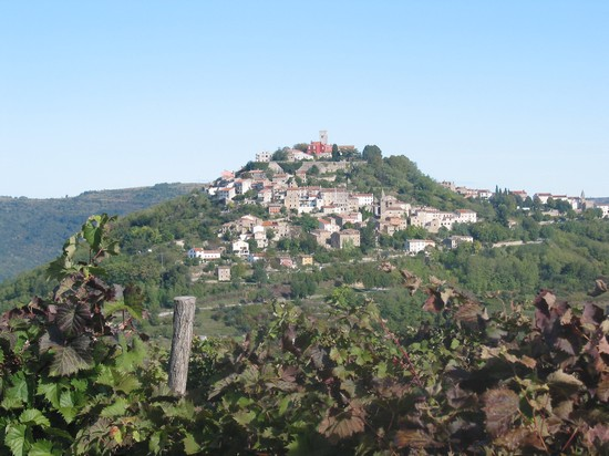 Town of Motovun in Istria
