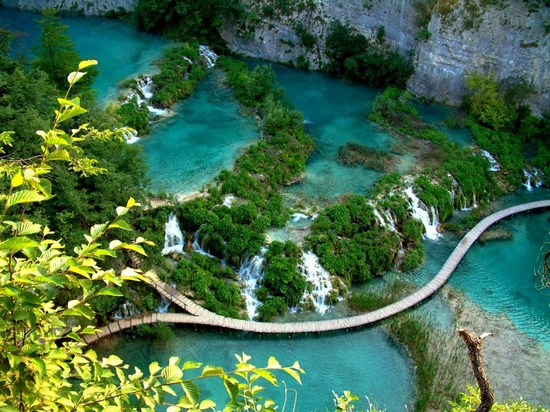 Plitivice Park in Croatia