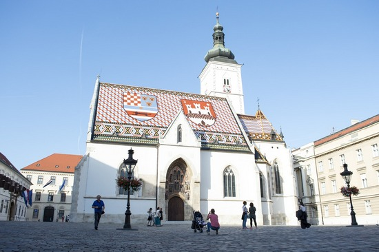 St. Marco Church in Zagreb