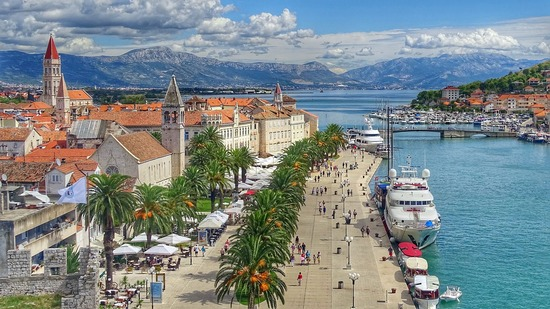 The old town of Trogir, Croatia