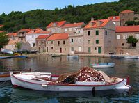 A small seaside town in Croatia